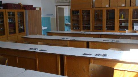 Učebňa fyziky