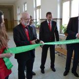 Otvorenie nových laboratórií chémie a fyziky